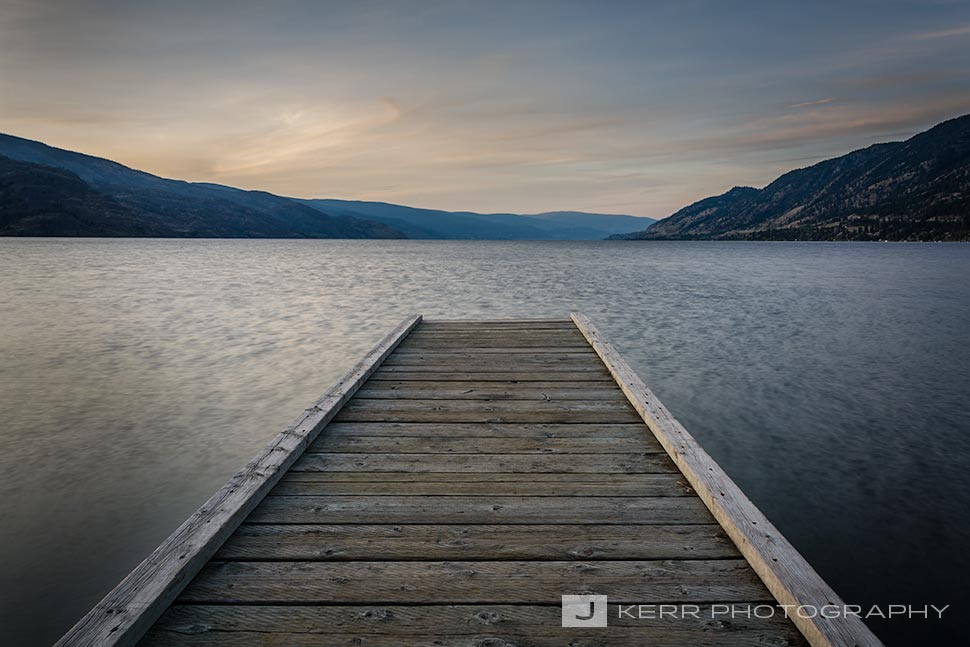 Dock in Okanagan Lake
