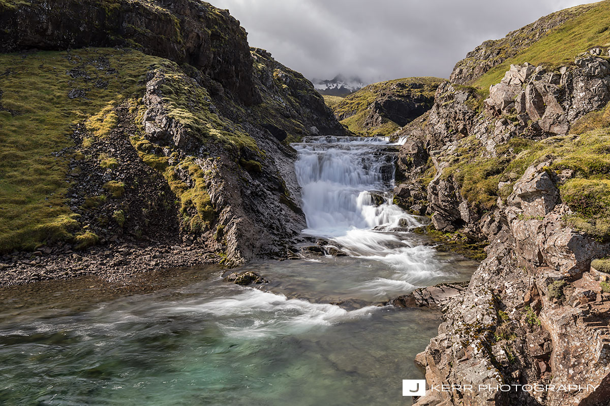 Eastfjords Waterfall